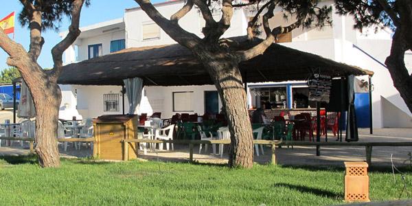 Chiringuito Camping Playa Mazagón